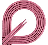 Ladeheid Qualitäts-Schnürsenkel aus 100% Polyester LAKO1001 (rosa90, 80cm)