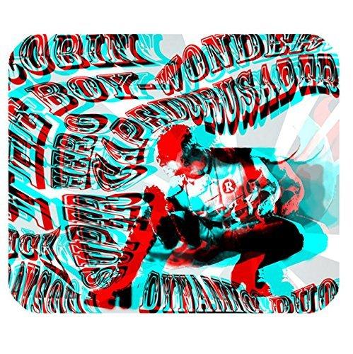Rectangle Office Mouse pad All Star Batman & Robin the Boy Wonder Batmanism design (Boy Robin Wonder)