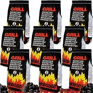 Briquetas de carbón vegetal para Barbacoa