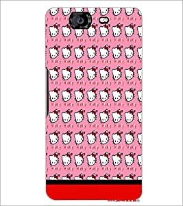 MICROMAX A350 CANVAS KNIGHT PATTERN Designer Back Cover Case By PRINTSWAG