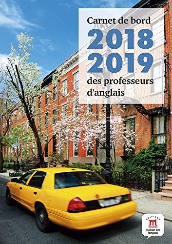 Carnet de bord 2018-2019 des professeurs d'anglais par Marie Lorieux