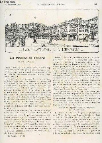 LA CONSTRUCTION MODERNE - N°13 - 26 DECEMBRE 1926 / LA PISCINE DE DINARD - AU MUSEE GALLIERA - ACADEMIE DES BEAUX ARTS - QUELQUES PROBLEMES D'URBANISME SE POSANT DANS LES GRANDES CITES FRANCAISES - ....