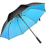 Superbison Ombrello da golf aperto automatico 155cm/145cm Ombrelli impermeabili antivento extra large Golf Umbrella