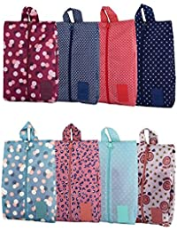 caba8729bcd14 Xunlong Travel Shoe Bags Waterproof Portable Oxford Shoe Bags with Zipper  Closure Storage Organizer Bag for