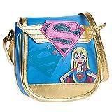 DC Comics Superhero Girls Supergirl Sac Bandoulière Sac à l'épaule pour Enfant Mf