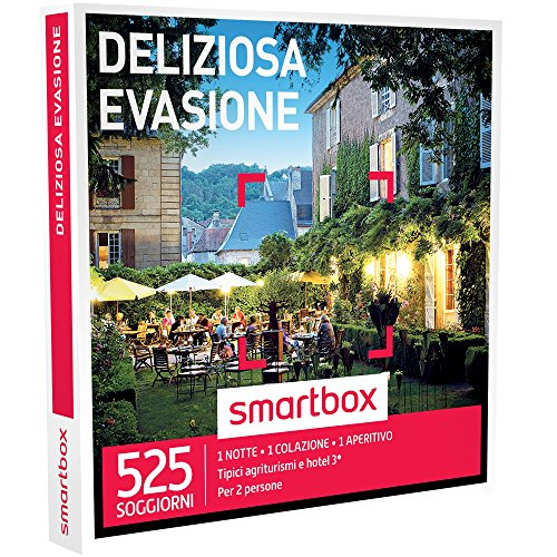 Smartbox - cofanetto regalo - deliziosa evasione - tipici agriturismi e hotel 3*