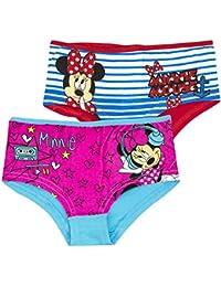 Minnie Mouse - Braguitas Bragas Bóxers- para niña 4/5 años