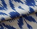 Fabrics By Heritage Trading Hand-Woven Ikat Drapierung Stoff. Artisan Indien Andhra Cotton 44 Breit