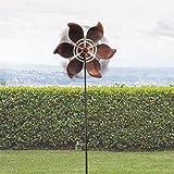 Oh My Home Molino de viento de jardín