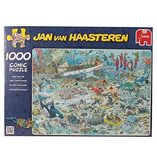 Jumbo 17079 - Jan van Haasteren - Unterwasserwelt, 1000 Teile
