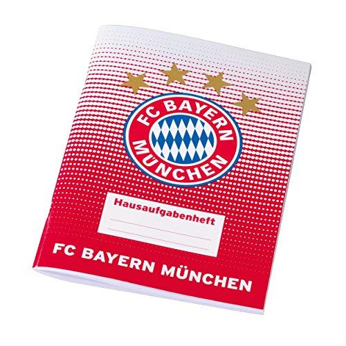 Preisvergleich Produktbild FC Bayern München Hausaufgabenheft / Aufgabenheft / Schulheft FCB
