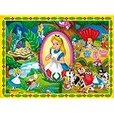 Clementoni 26871.9 - Puzzle 60T. Alice im Wunderland