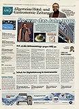 AHGZ Allgemeine Hotel und Gastronomie-Zeitung  Bild