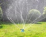 Automatisch drehender Rasensprenger mit drei Armen für Garten, Rasen oder zum Spielen für die Kinder, von PriMi