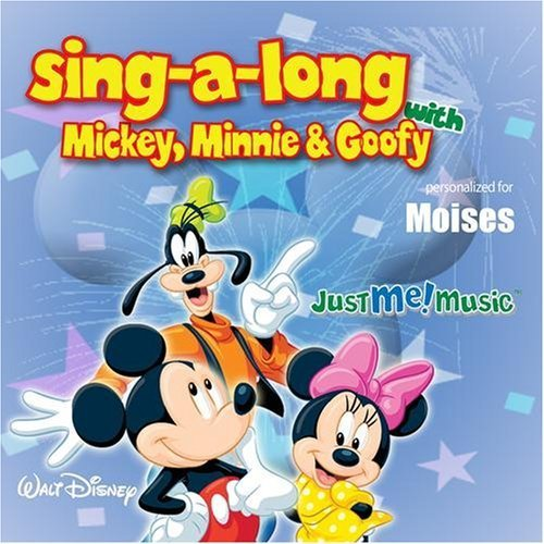 Sing Along with Mickey, Minnie and Goofy: Moises by Mickey Mouse, Minnie Mouse, and Goofy (2007-12-27j