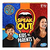 Best Hasbro Game Night Games - Hasbro Speak Out Kids vs Parents Game Review