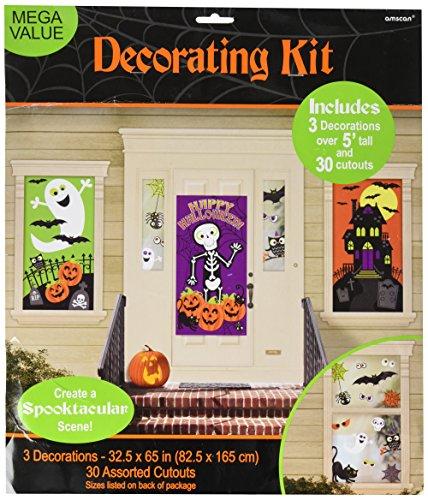 Amscan Familie Freundlicher Scene Setter (Scene Halloween Setters)
