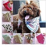 #4: Designeez Cloth Dog Accessories (Style: Red & Size: Random) #5435