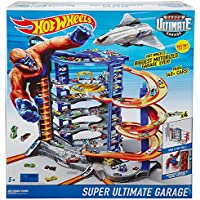 Mattel Hot Wheels Super Mega City Parking Garage - FDF25.