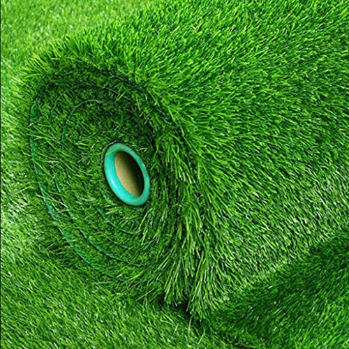 Erba artificiale, Zolla Altezza Due Centimetri Interni Esterni Pet Dog Erba Sintetica Mat Tappeto Tappeto for Giardino di casa Balcone (Size : 2x2m)