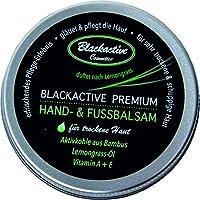 Blackactive Premium Hand- & Fußbalsam Schrundensalbe schwarz 50ml für trockene Haut   mit Aktivkohle aus Bambus... preisvergleich bei billige-tabletten.eu
