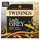 Twinings Lady Grey Bright with Zesty Orange 100 Btl. 250g