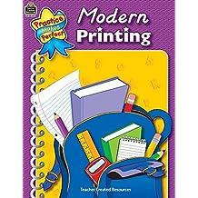 Modern Printing (Penmanship) by Janet Cain (2002-03-01)