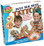 Small World Toys Creative–nur für Jungen Tattoos
