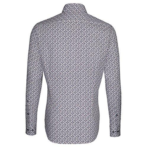 Seidensticker -  Camicia classiche  - Floreale - Classico  - Maniche lunghe  - Uomo Brown - braun (0025)