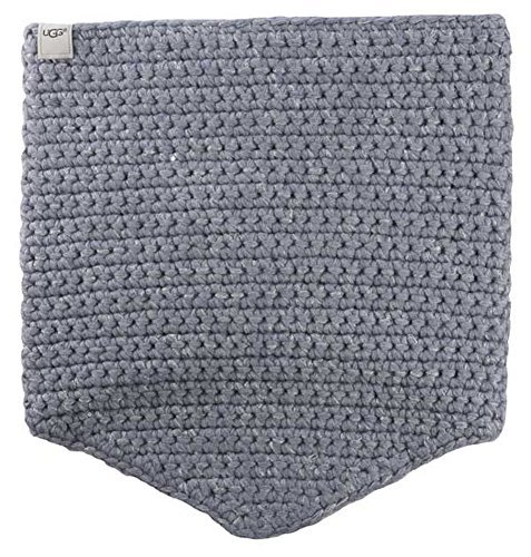 UGG Women's Crochet Snood with Lurex & Sequins Steel Heather Multi Scarf One Size