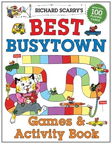 Richard Scarry's Best Busytown Games & Activity Book by Scarry, Richard (2013) Paperback