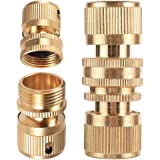 """Brass Quick Connectors 3/4"""" Male Thread 3/4"""" Female Thread Garden Irrigation Accessories Car Wash Pipe Fittings"""