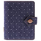 Filofax 27034 Organizer Denim Pocket Dots, Indigo