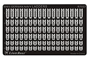 Lion Roar r7057-Fotográfico ätzteil WWII German Navy Ladders, Varios Juguetes