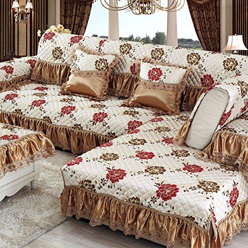 New day®-Europeo di lusso divano mat cuscino del divano semplice moda , 70*150cm+ edge