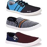 Bersache Men's Multicolour Light Weight Comfortable Walking Shoes