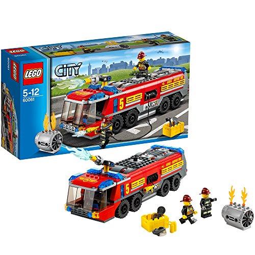 Preisvergleich Produktbild Lego City 60061 - Flughafen-Feuerwehrfahrzeug