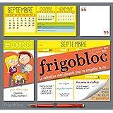 Calendrier d'organisation familiale FrigoBloc 2016 - S'organiser n'a jamais été aussi simple !