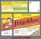 Calendrier d'organisation familiale FrigoBloc (Sep 2015- Dec 2016) - S'organiser n'a jamais été aussi simple !