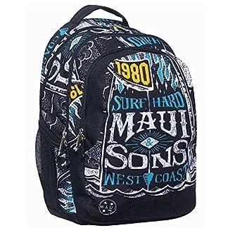 6133fgLGVGL. SS324  - Maui and Sons - West Coast - Mochilla para la escuela o para el tiempo libre 339-85031