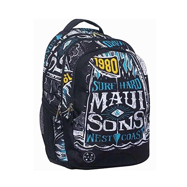 Maui and Sons – West Coast – Mochilla para la escuela o para el tiempo libre 339-85031