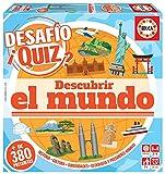 Educa Borrás- Desafio Quiz-Descubrir El Mundo, Color Variado (18218)
