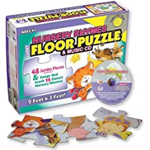 Nursery Rhymes Floor Puzzle & Music Cd
