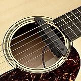 Fishman Rare Earth Humbucking Micro Rosace actif double bobinage pour Guitare Acoustique Noir