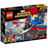 LEGO Marvel Super Heroes 76076 - Captain America: Düsenjet