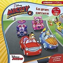 Mickey y los Superpilotos. La gran carrera (Leo con Disney - Nivel 3)