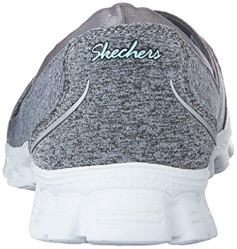 Skechers Ez Flex 2 Quipster, Scarpe da Ginnastica Donna Grigio