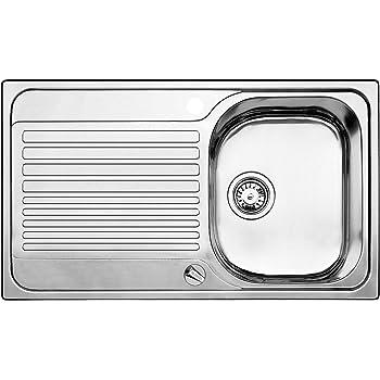 Blanco Toga 45 S Küchenspüle, Edelstahl Naturfinish,1 Stück, 513603 ...