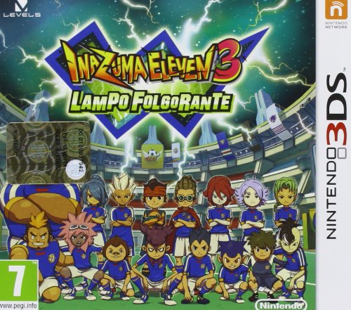 Inazuma Eleven 3: Lampo Folgorante [Importación Italiana]