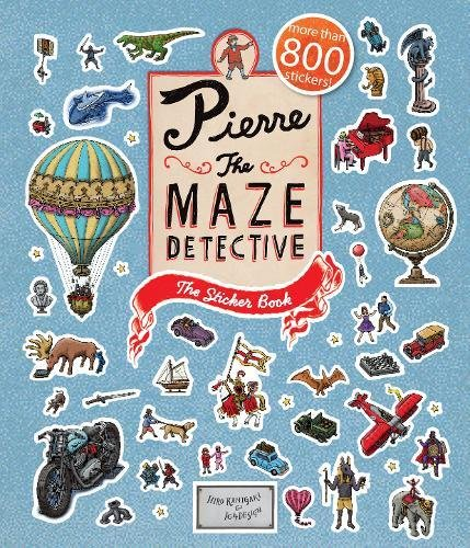 Pierre The Maze Detective: The Sticker Book (Sticker Books)